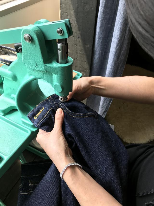 画像4: 自分だけのジーンズが手に入る!