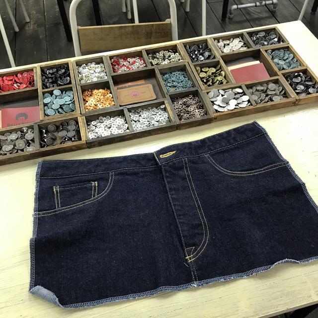 画像1: 自分だけのジーンズが手に入る!