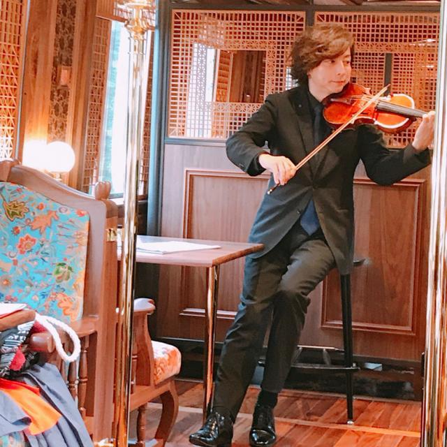 画像: ヴァイオリニスト 大迫 淳英さん