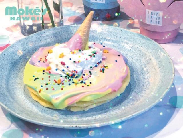 画像: ◆ユニコーンパンケーキ 販売価格:1,480円(税別)