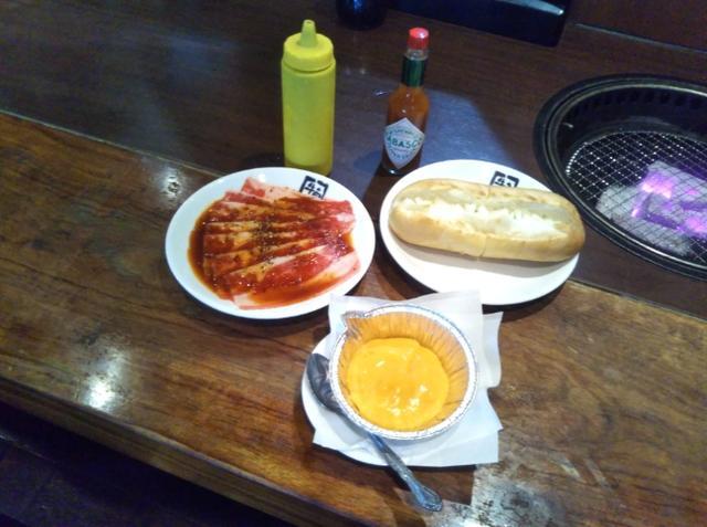 画像: 「チーズまみれのカルビドック」500円(税抜)