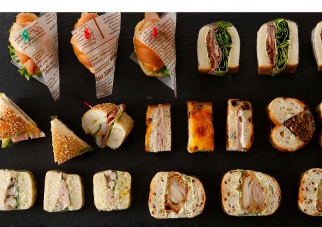 画像: スイーツだけじゃない!料理長渾身のサンドウィッチ全17種にも注目!
