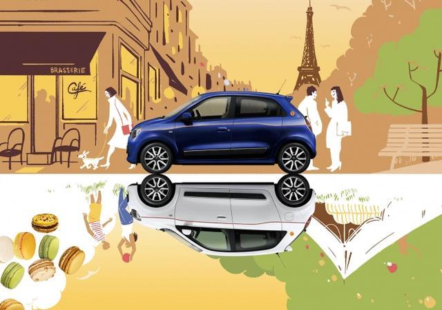 画像1: ルノー トゥインゴは、パリが仕立てたコンパクトカー