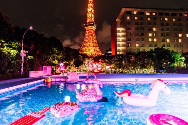 画像: 【公式】CanCamナイトプール2018|東京プリンスホテル