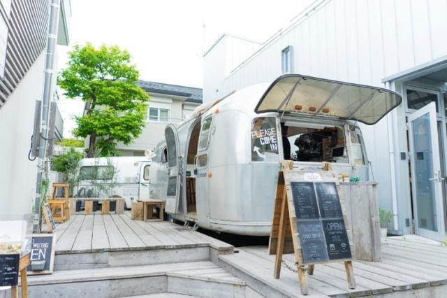 画像1: 東京・表参道「the AIRSTREAM GARDEN」では「Cloudy Cream」と「ぱんこーん」を期間限定販売!