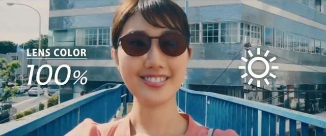 画像4: 普段使いのメガネが自動でサングラスに、新感覚機能レンズ!