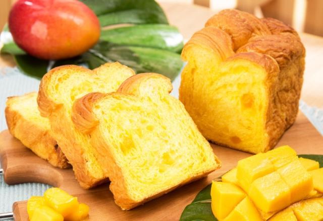 画像: まるでマンゴー果実そのもの!マンゴーすぎるデニッシュ食パン