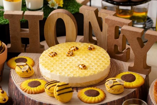 画像: ハニカムレアチーズケーキ