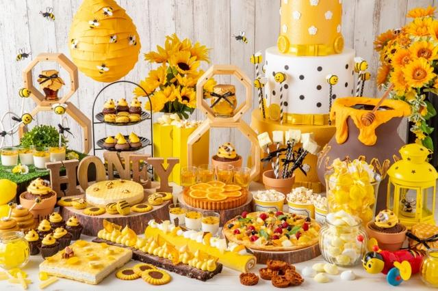 画像1: 集まれ!スイーツハンターたち!ハチミツ&チーズランチブッフェ「ホテルでハニーハント」