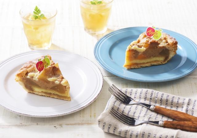 画像: 商品名:「夏に食べたいアップルパイ」[NEW] 価 格: ¥420(税込¥453) 特 長: りんごの爽やかな味わいとゆたかな香り、シナモンの風味を活かして焼き上げました。さっぱり食べられる、甘さ控えめの夏向きアップルパイです。クランブルの食感とともにお楽しみください。