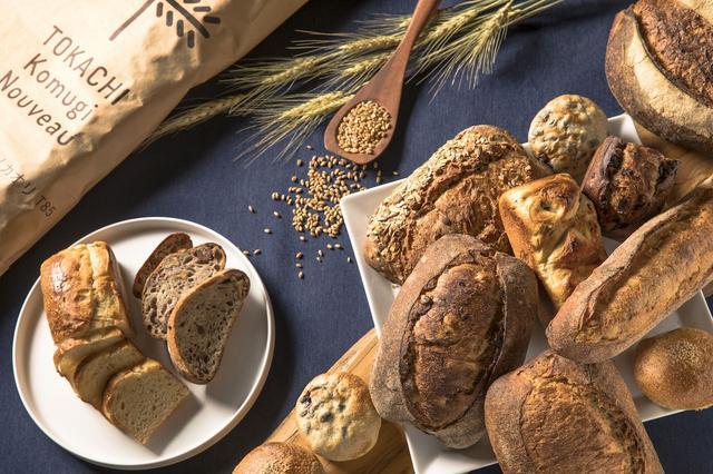 画像: 十勝小麦を使用したパンを味わう