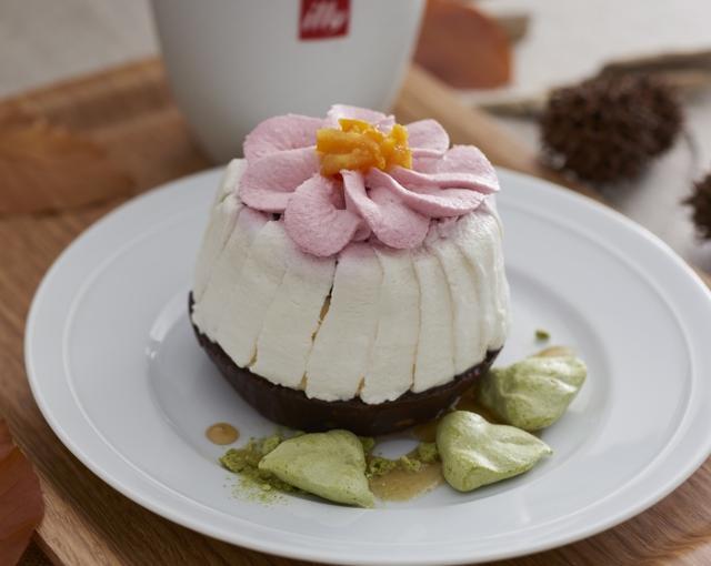 画像: 彫刻の森美術館[カフェ] ラズベリークリームのお花でおめかしした、砂糖不使用のキュートなタルトです!