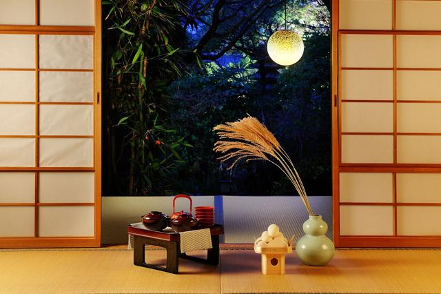 画像1: 界 加賀(石川県・山代温泉) 加賀の伝統工芸を楽しむ観月茶会