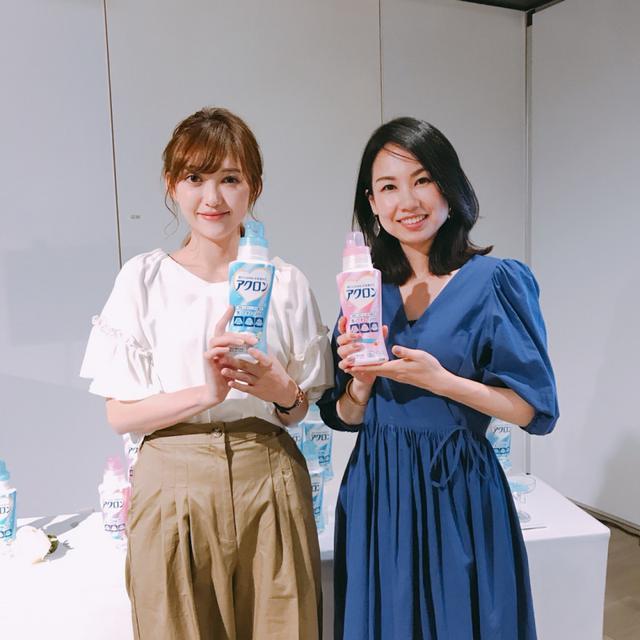 画像: (左)プチプラのあやさん(人気Youtuber) (右)日比理子さん(ファッションアドバイザー)