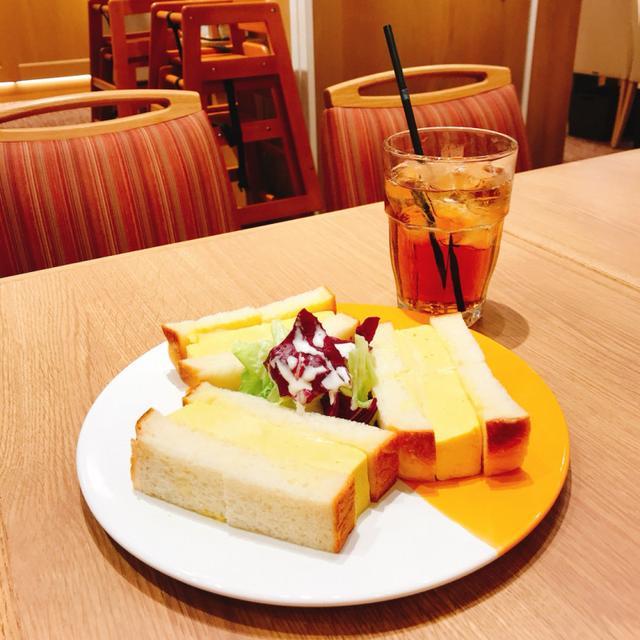 画像: 「厚焼きたまごのサンドウイッチ」(からし入り/からし抜き)税込680円