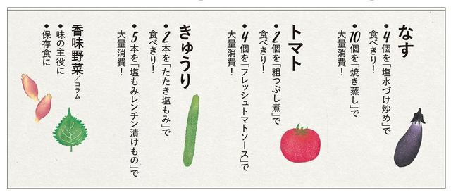 画像1: さまざまな調理テクニックで、なす、トマト、きゅうりなど、夏野菜を一気に大量消費!