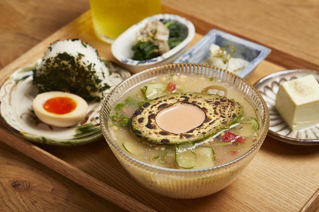 画像1: 【夏限定】浅草のお味噌汁専門店MISOJYUの「アボカド冷や汁」