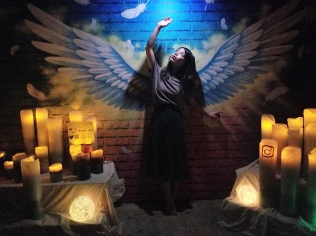 画像1: フォトジェニックな夜の美術館がお化け屋敷に
