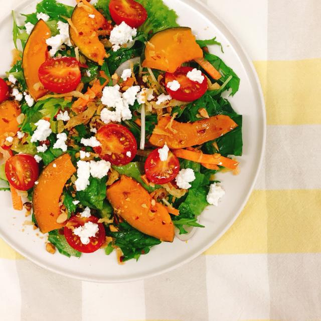 画像: RF1「さびないカラダに緑黄色野菜のシーザーサラダ」432円(税込)