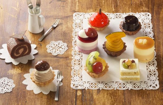 画像: 秋の実りをかわいいプチケーキで満喫!