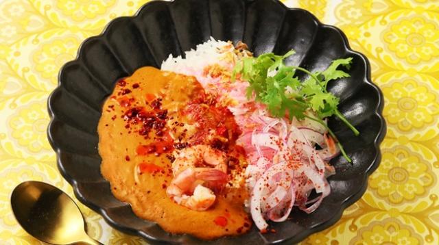 画像: トムヤムカレー  ¥980 本場さながらの酸味とコクが食欲を引き立てます!サナギの新カレー登場!
