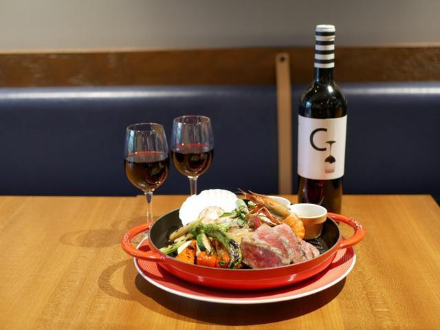 画像: 3F・魚貝とワインと時々お肉 YOKOHAMA Mar Mare