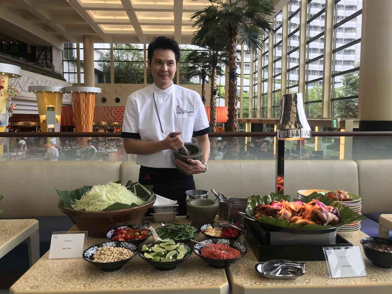 画像1: 9月限定・本格タイ料理が楽しめる『タイフードブッフェbyシェフX』開催