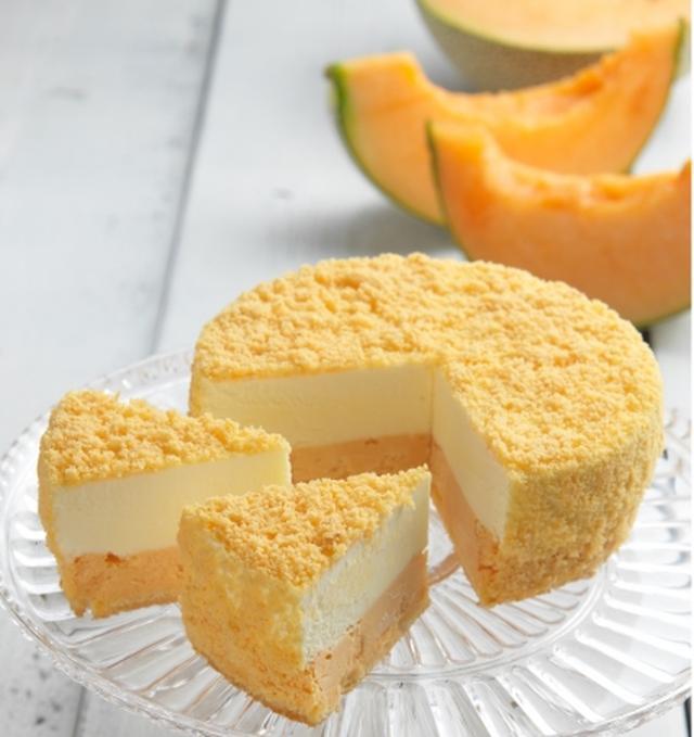 画像1: 夏限定メロンチーズケーキが数量限定で登場!
