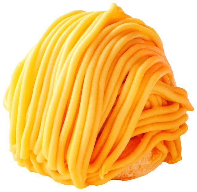 画像: 「安納芋モンブラン」400円(税込) 種子島産の安納芋を使用した和のモンブラン。芋のほっくりした優しい甘さを味わえます。