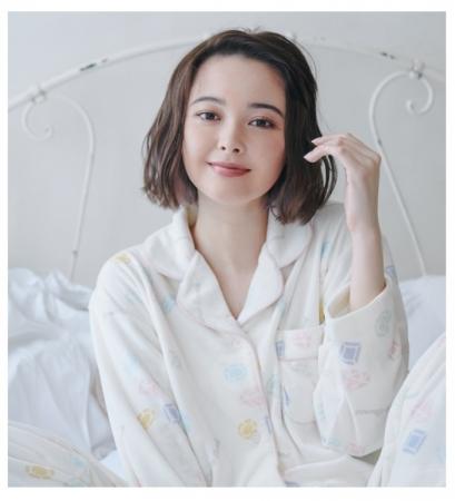 画像: 【かわいい宝石柄】やわらかな肌触りが特徴のなめらかフリース素材パジャマ