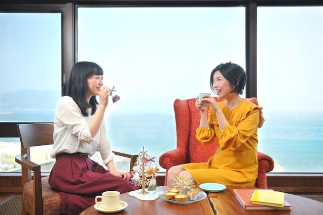 画像1: 界 アンジン 「秋の紅葉×紅茶女子会」(静岡県 伊東温泉)