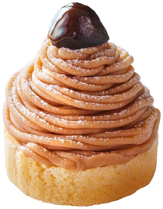 画像: 「純栗ぃむ」430円(税込) コメダの人気ケーキが再登場!大人から子供まで楽しめる定番のモンブランです。栗の香り、栗の美味しさがたっぷり詰まった、贅沢な味わいです。