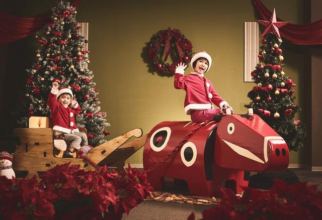 画像: 磐梯山温泉ホテル「赤べこクリスマス」開催!