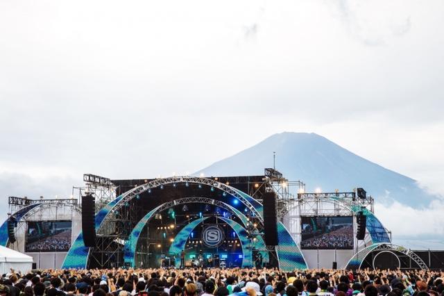画像1: 過去最高動員となる75,000人が世界遺産・富士山のふもとで大熱狂!