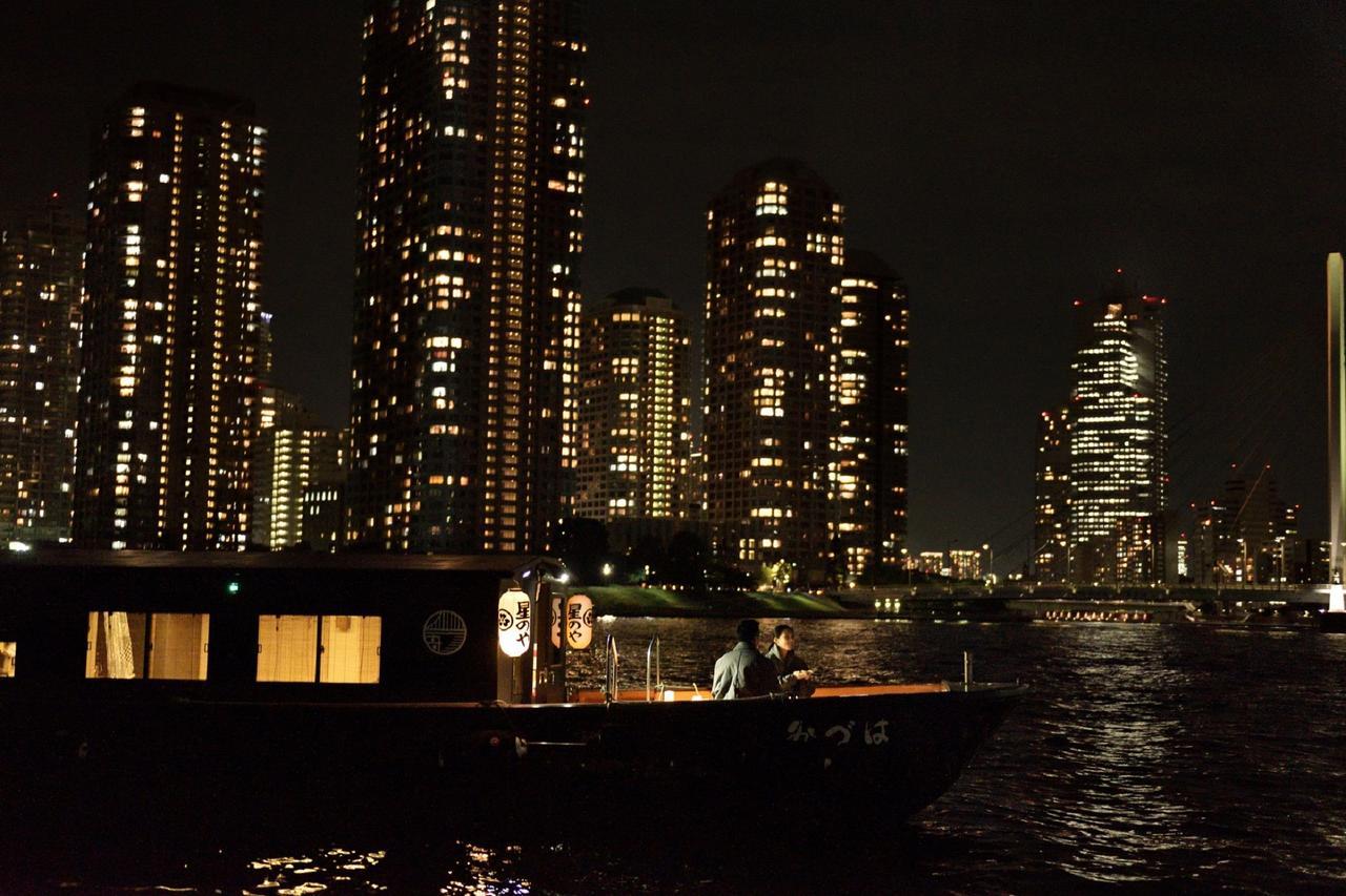 画像: スケジュール例 17:45     星のや東京 出発 18:00     日本橋桟橋から乗船 隅田川をナイトクルーズ 18:25     停泊して食事 19:00     日本橋桟橋にて下船 19:15     星のや東京 到着