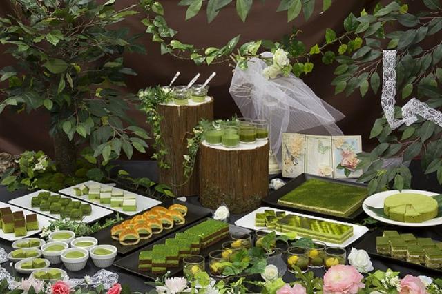 画像1: 「眠り姫の森」の世界観をテーマに抹茶スイーツを提供!