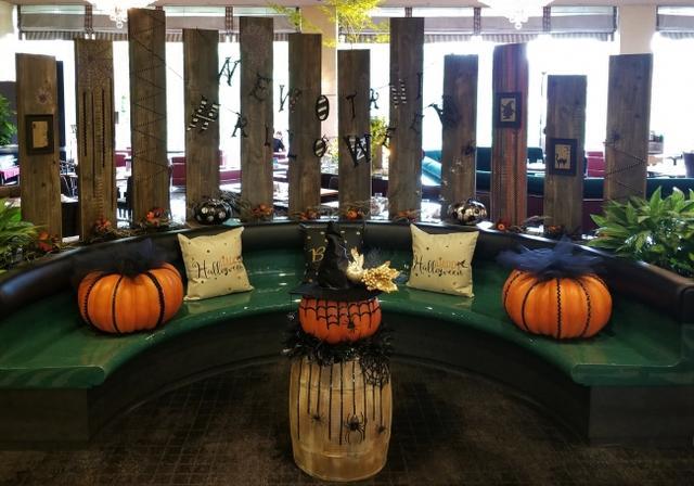 画像: かぼちゃでディスプレイしたフォトスポットも登場!