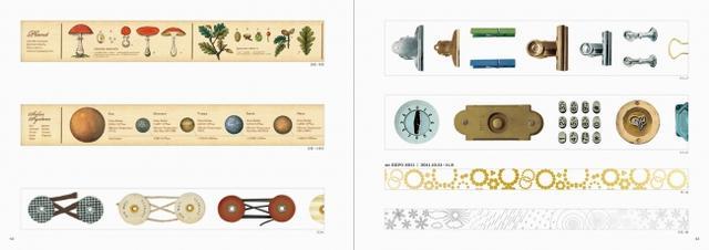 画像2: マスキングテープ「mt」の全デザインを集めたスペシャル・ブック!