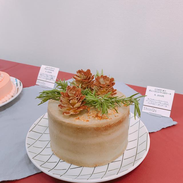 画像: CAFE M「オレンジとスパイスのケーキ」(約φ15×H14㎝)/5,200円(税込)