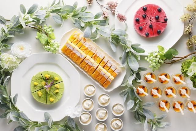 画像1: 約10種のフルーツが並ぶコーナーも登場!朝から楽しめるスイーツ&アイスクリームも