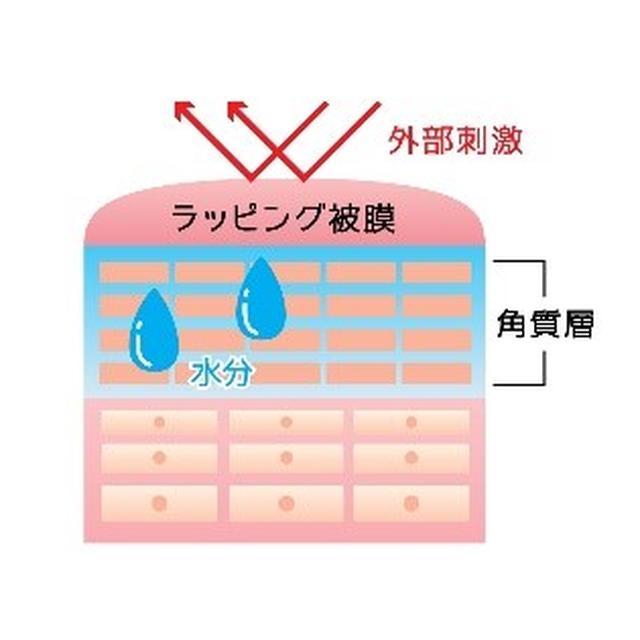 画像: 潤ったスネの水分を逃さず密封させる3つの成分『シルク・ポリクオタニウム-51・加水分解卵殻膜』を配合。