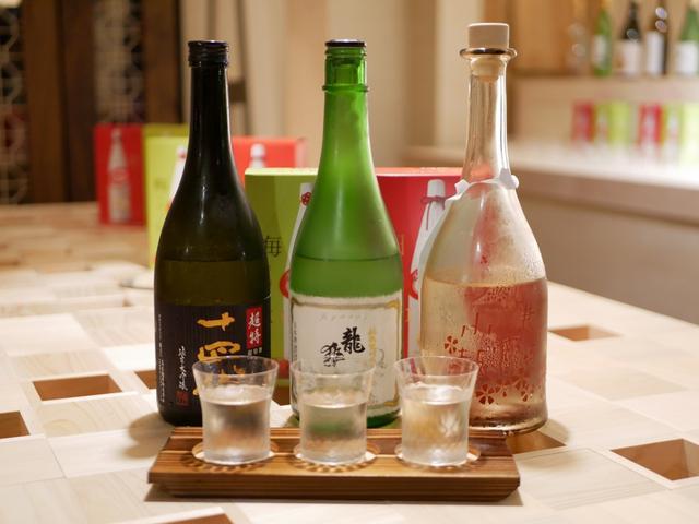 画像: 西日本豪雨復興応援利き酒セットなるものも。蔵元との交流も楽しいです。