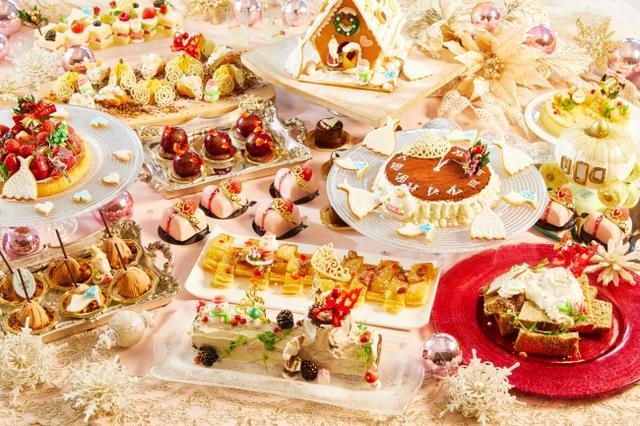 画像1: 女の子の夢が詰まった人気のデザートブッフェが、限定クリスマスバージョンに!