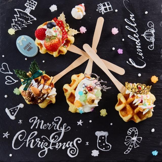 画像2: 女の子の夢が詰まった人気のデザートブッフェが、限定クリスマスバージョンに!