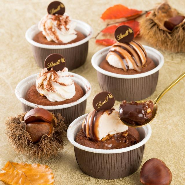 画像1: 「リンツ」から温かいショコラデザート 「フォンダン オ ショコラ」新発売