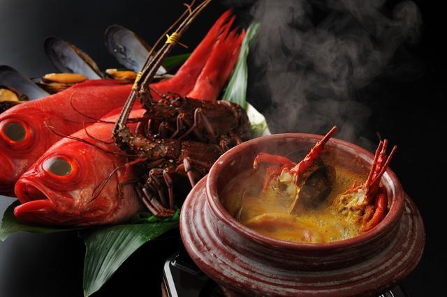 画像: 界 アンジン(静岡県・伊東温泉) 新鮮な魚介の「和風ブイヤベース鍋」