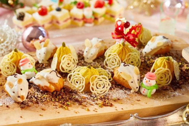 画像4: 女の子の夢が詰まった人気のデザートブッフェが、限定クリスマスバージョンに!