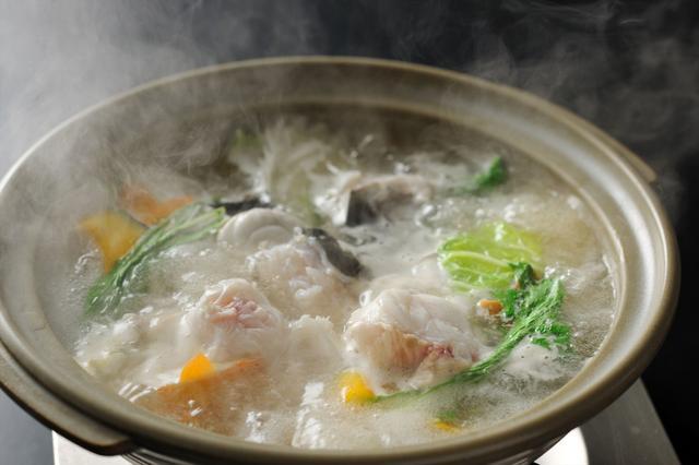画像: 界 遠州(静岡県・舘山寺温泉)とらふぐのちり鍋「てっちり」