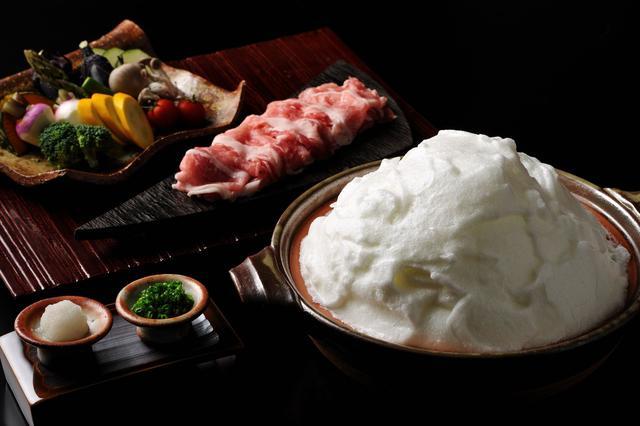 画像: 界 箱根(神奈川県・箱根湯本温泉)「 豆乳メレンゲ鍋」