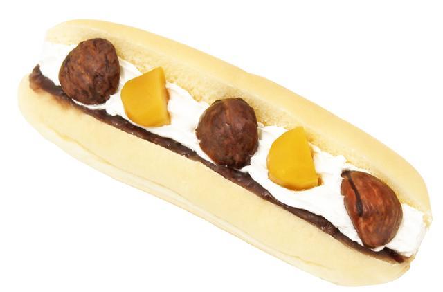 画像: soyクリームのコッペパン(マロン)  本体価格296円(税込320円)